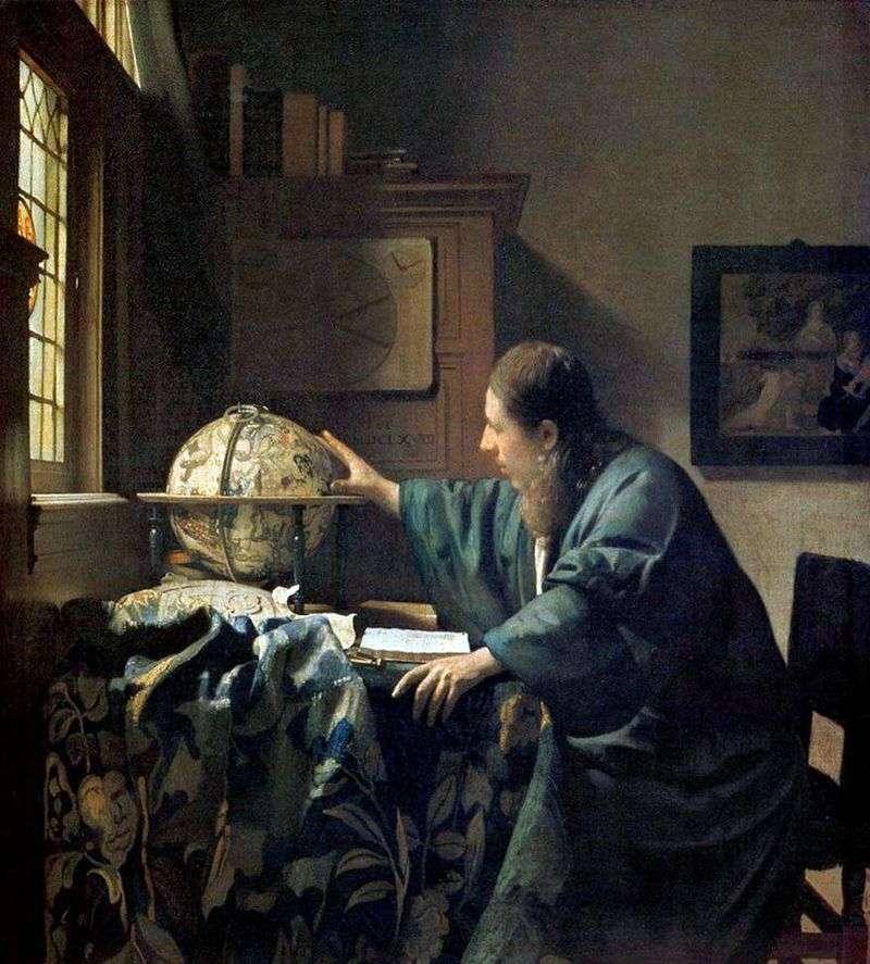 Astronom   Jan Vermeer