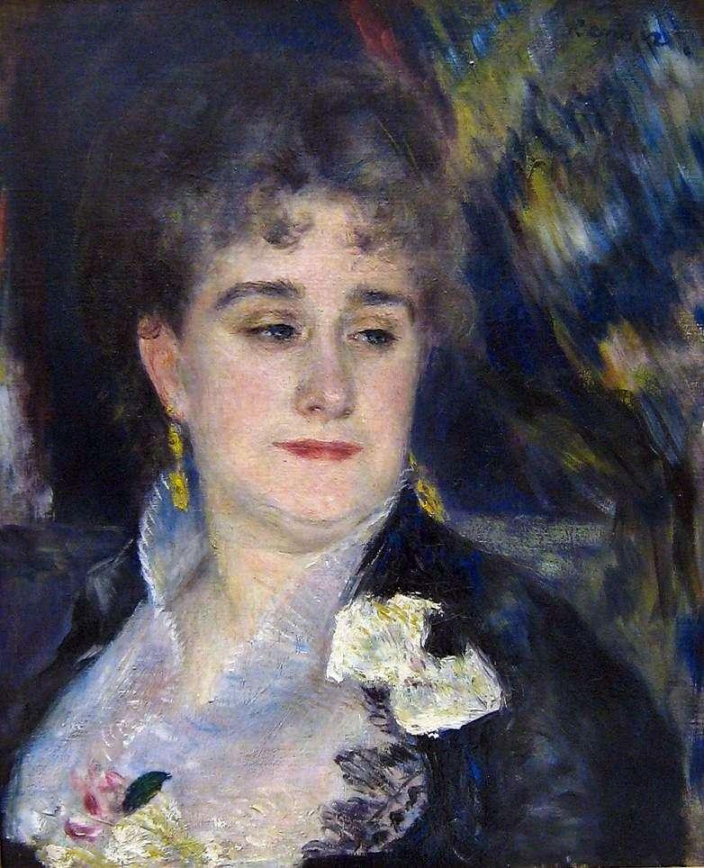 Portret Madame Charpentier   Pierre Auguste Renoir