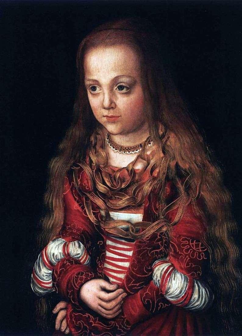 Portrety księcia i księżniczki   Lukas Cranach
