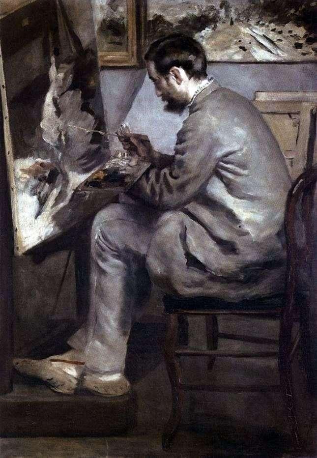 Portret Fryderyka Bazyli u Sztalugi   Pierre Auguste Renoir