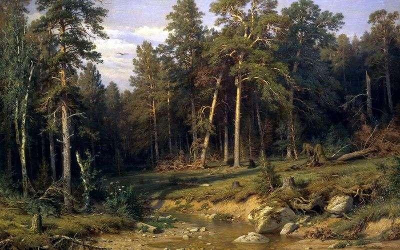 Las sosnowy. Las masztowy w prowincji Wiaczatka   Iwan Szyszkin