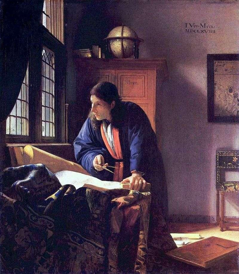 Geograf   Jan Vermeer