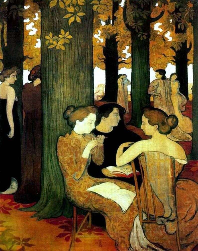 The Muse in the Sacred Grove   Maurice Denis