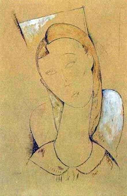Kariatyda   Amedeo Modigliani