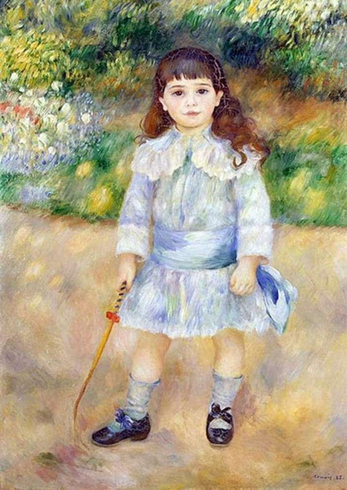 Dziecko z biczem   Pierre Auguste Renoir