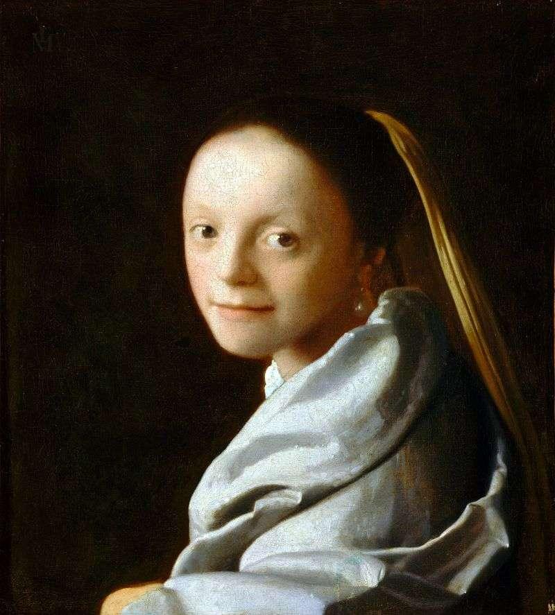 Głowa dziewczyny   Jan Vermeer