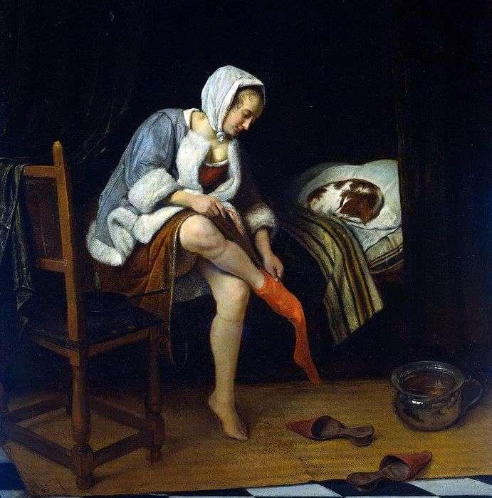 Toaleta dla kobiet   Jan Steen