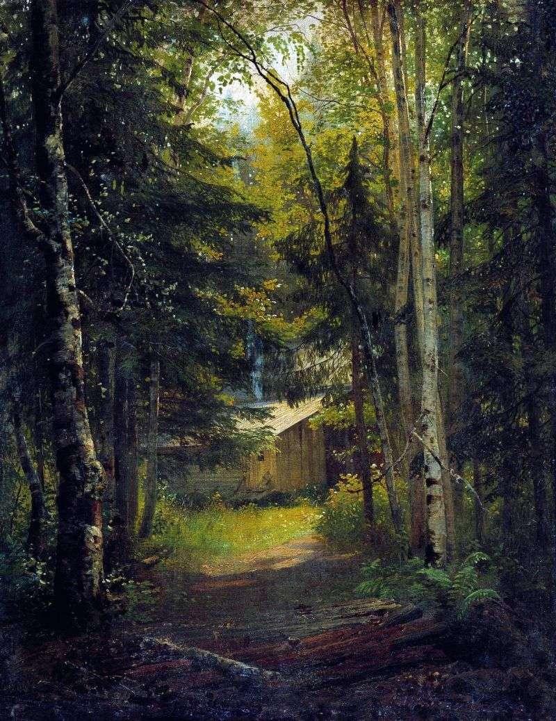 Strażnica w lesie   Iwan Szyszkin