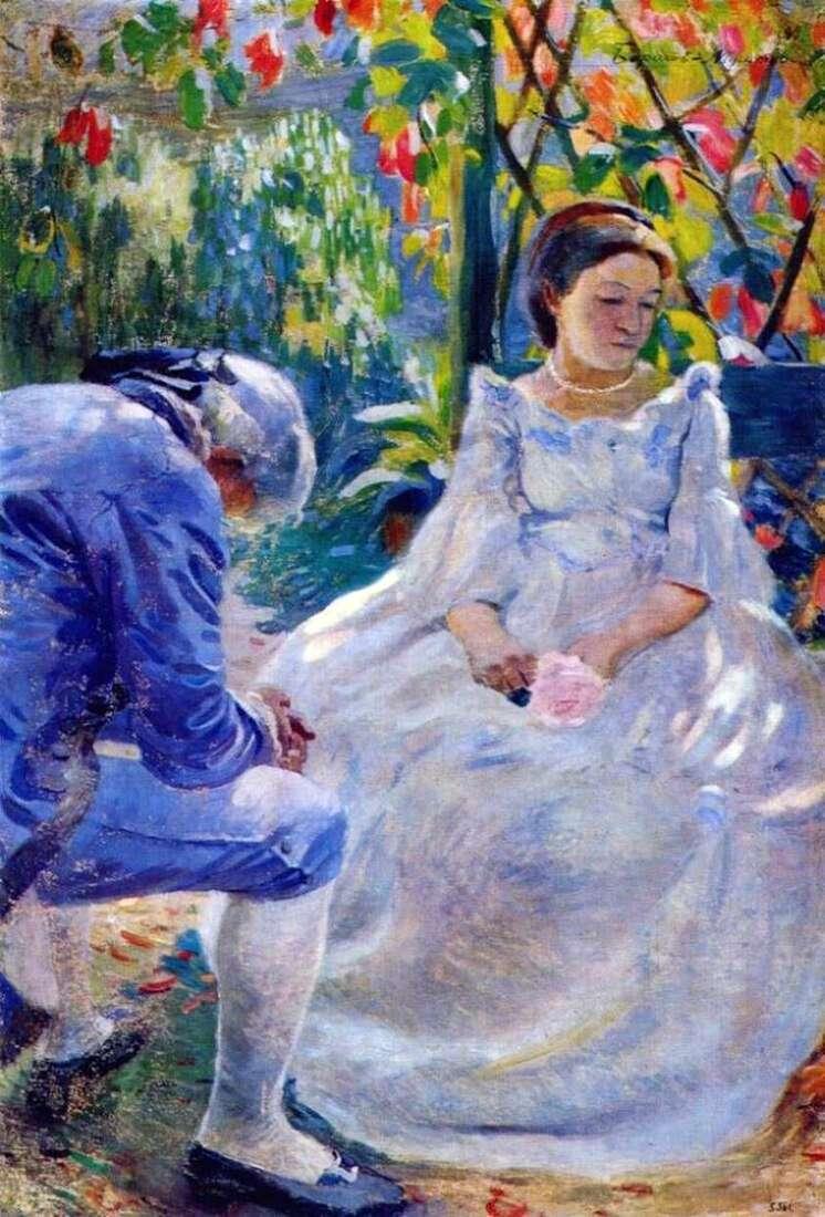 Motyw jesienny   Victor Borisov Musatov