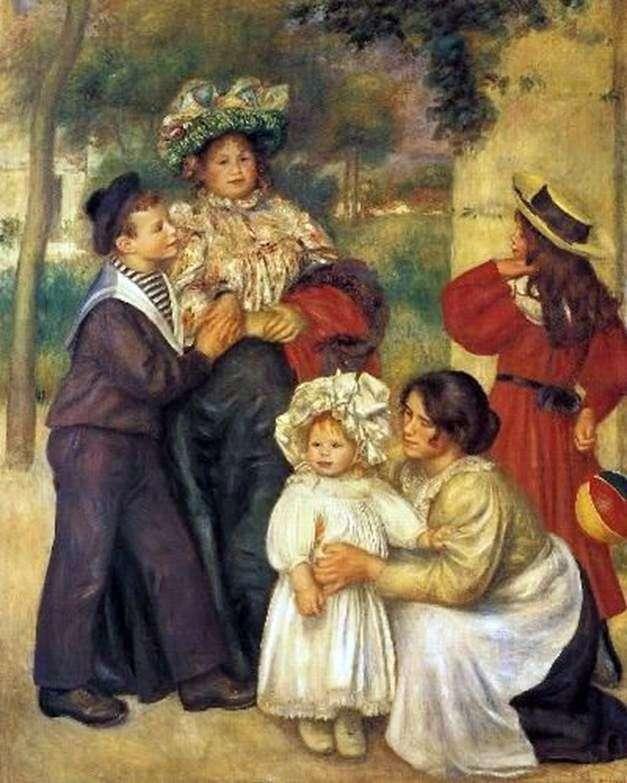 Rodzina artysty   Pierre Auguste Renoir