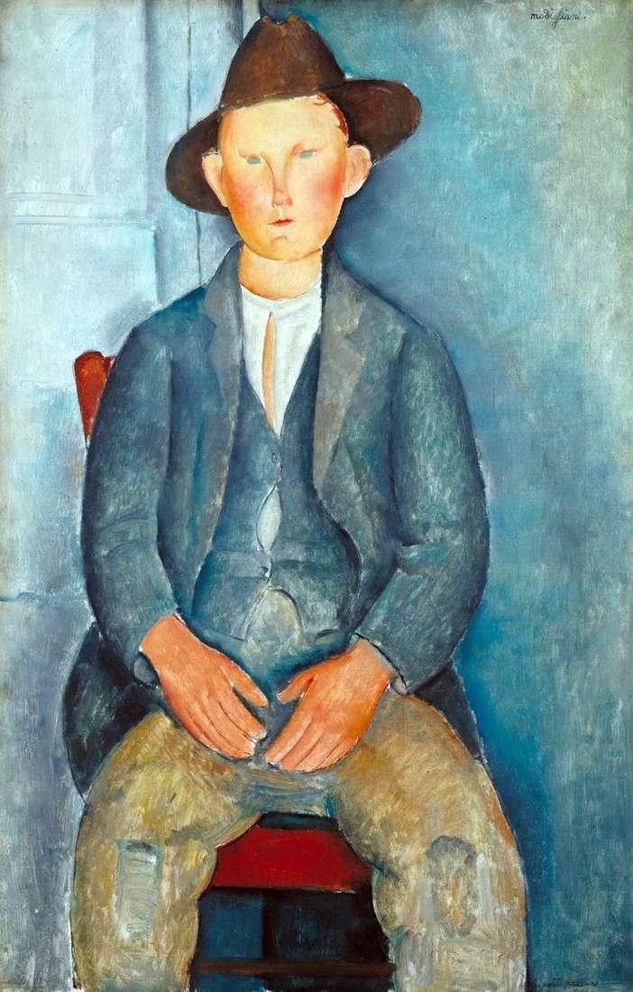 Mały Chłop   Amedeo Modigliani