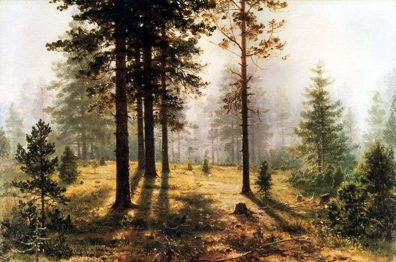 Mgła w lesie   Iwan Szyszkin