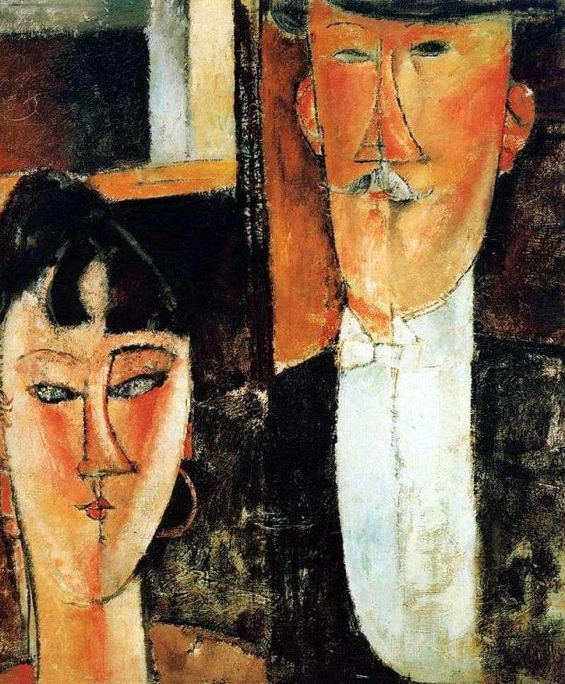 Panna młoda i pan młody   Amedeo Modigliani