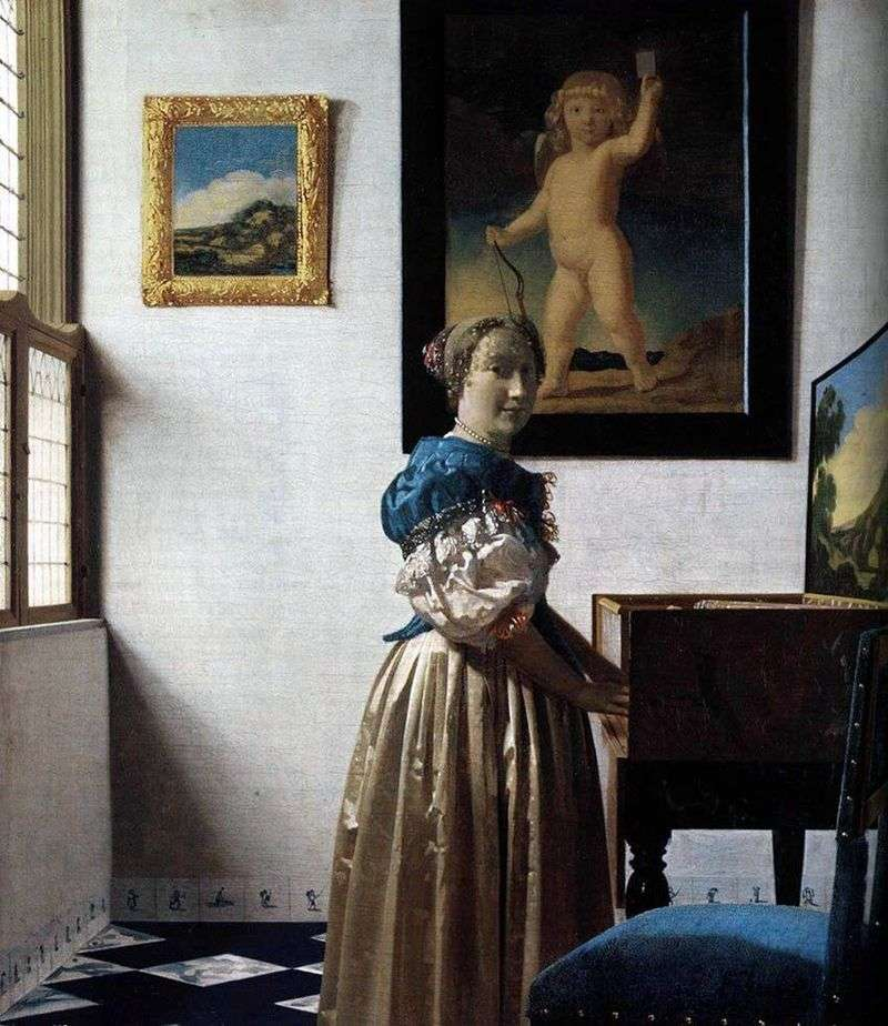 Lady at Virginia   Jan Vermeer