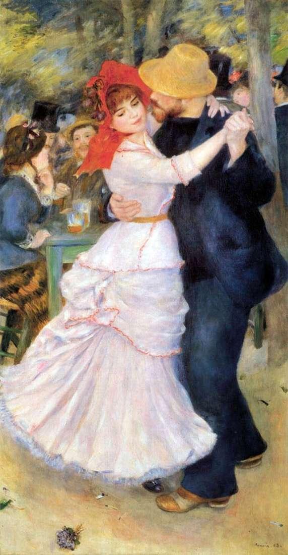 Taniec w Bougival   Pierre Auguste Renoir
