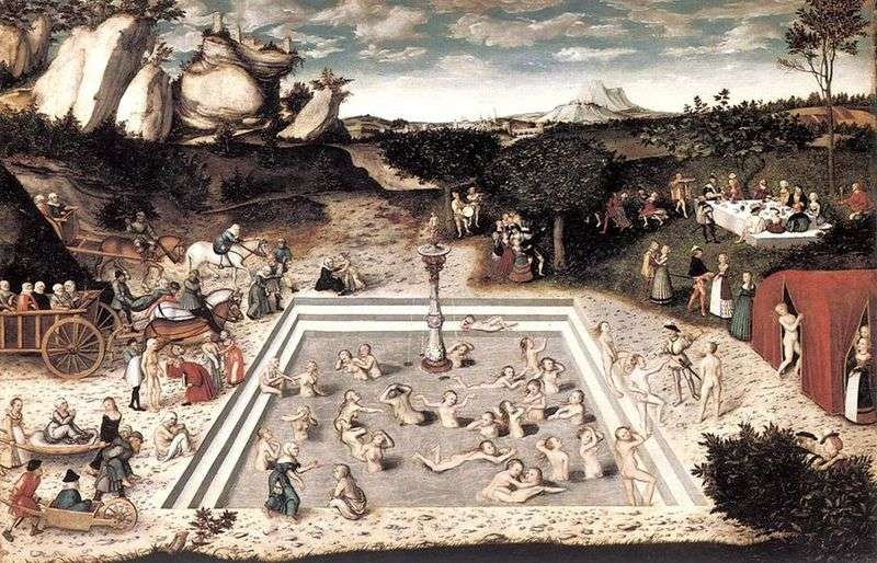 Fountain of Youth   Lucas Cranach