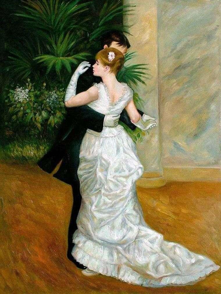 Taniec w mieście   Pierre Auguste Renoir