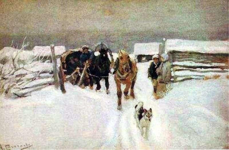 Zima   Aleksiej Stiepanow