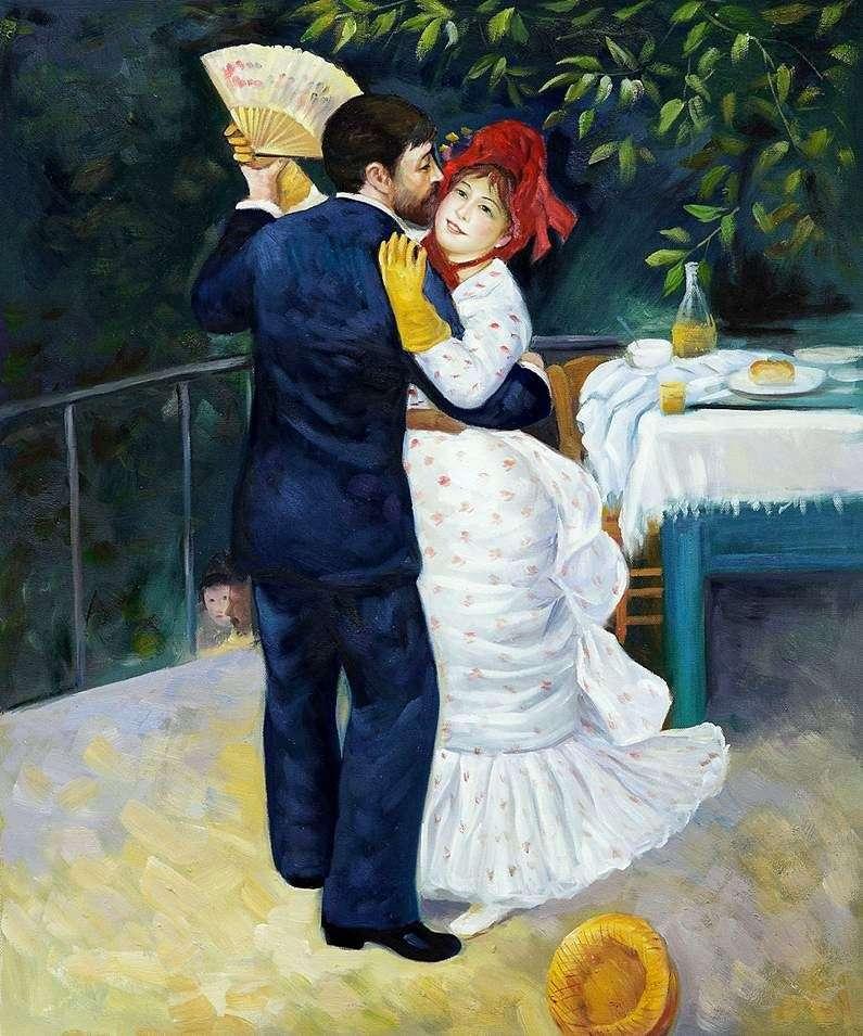Taniec w wiosce   Pierre Auguste Renoir