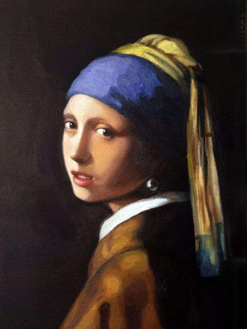 Dziewczyna z perłą   Jan Vermeer