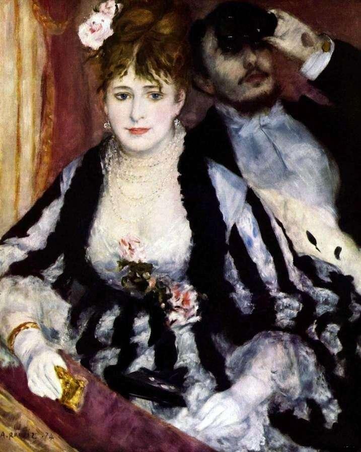Teatralne łóżko   Pierre Auguste Renoir