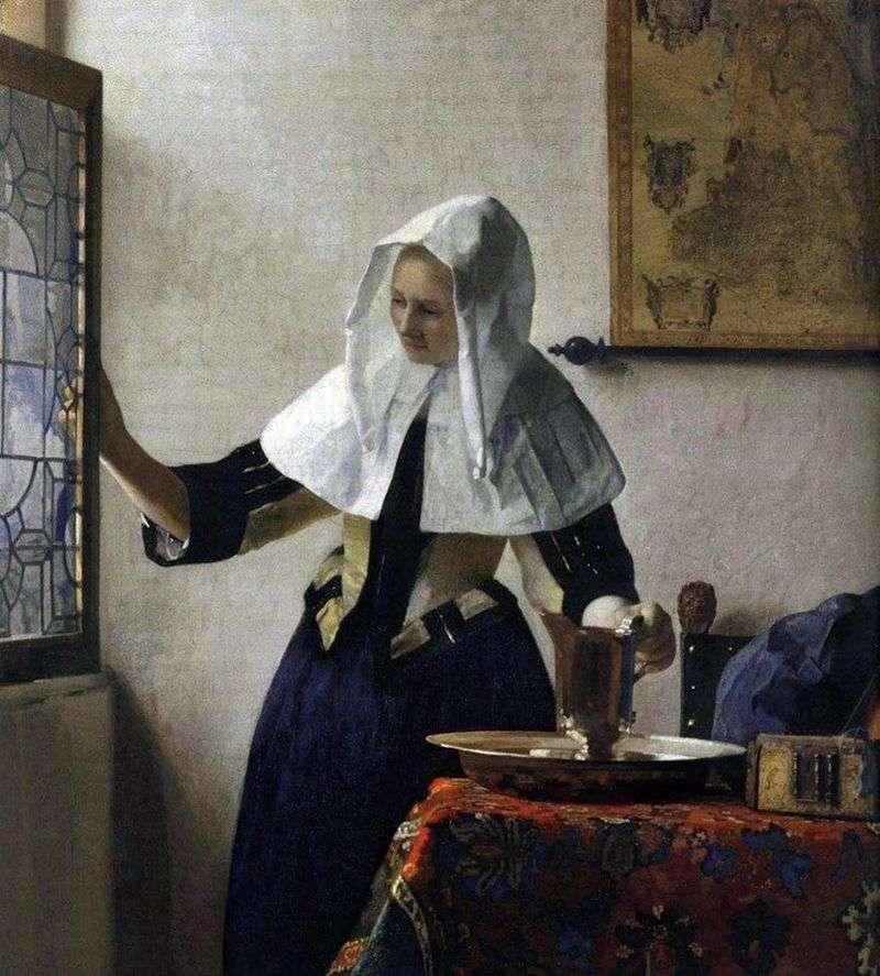 Dziewczyna z dzbanem wody   Jan Vermeer