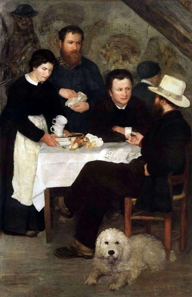 Tawerna Matki Antoniego   Pierre Auguste Renoir
