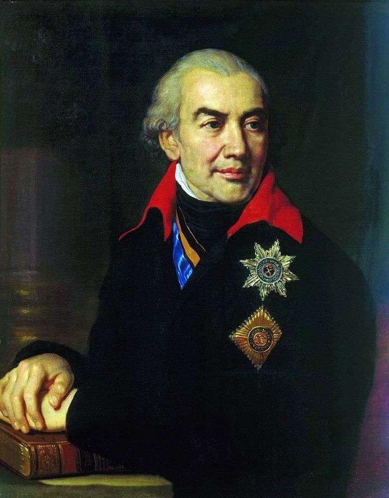 Portret G. S. Volkonsky   Vladimir Borovikovsky