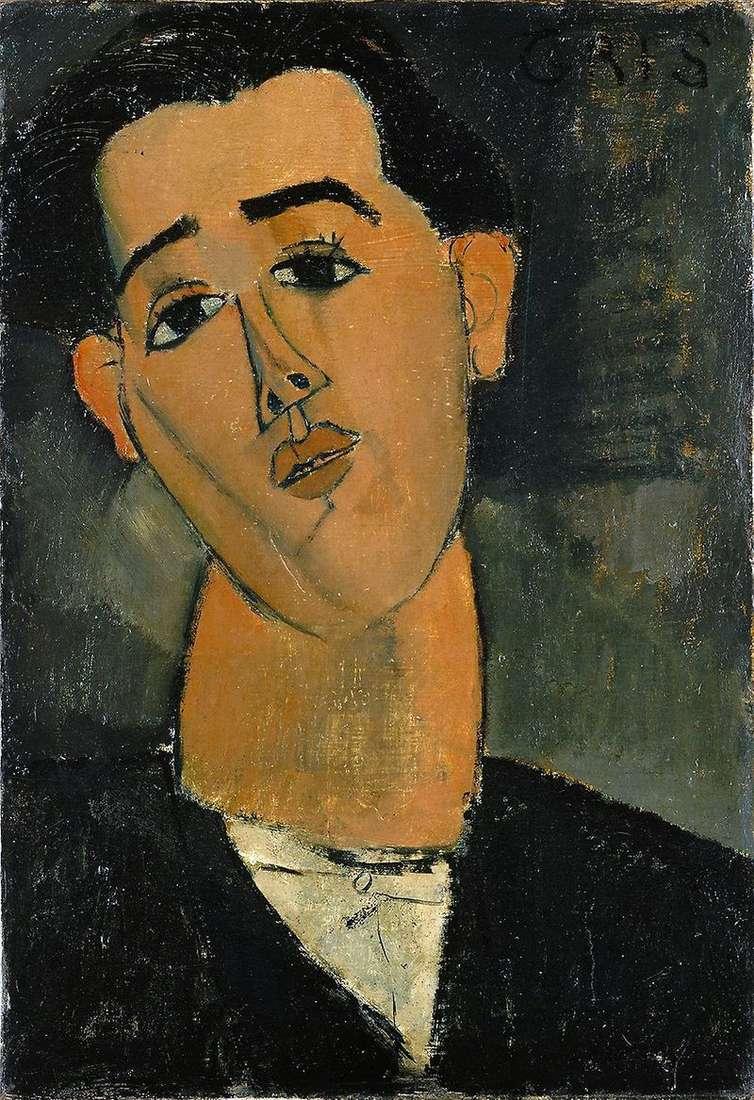 Portret Juana Grisa   Amedeo Modigliani