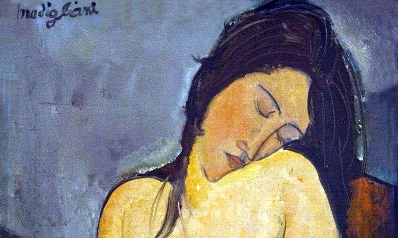 Seated Nude   Amedeo Modigliani
