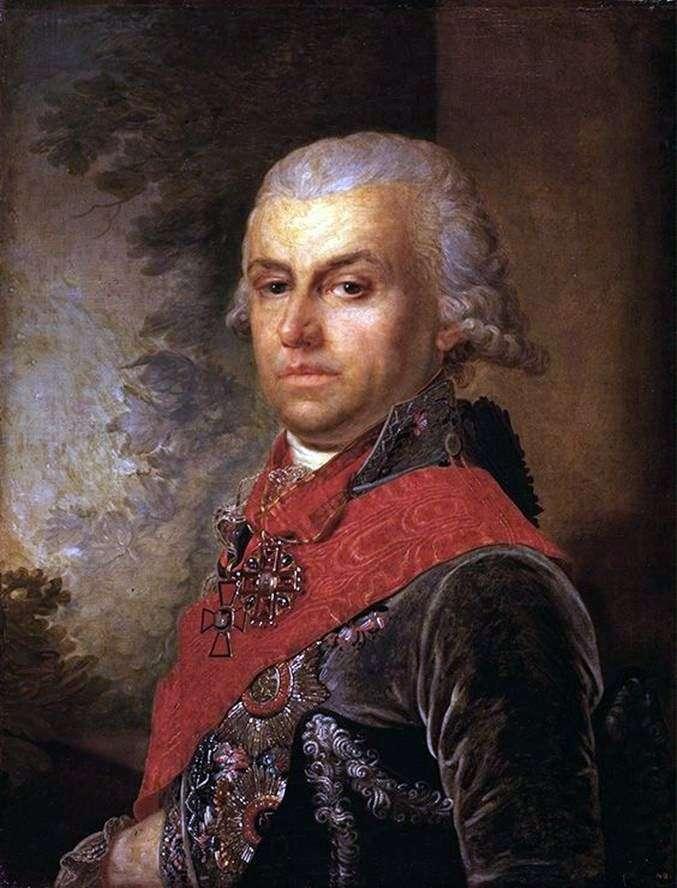 Portret D. P. Troschinsky   Vladimir Borovikovsky