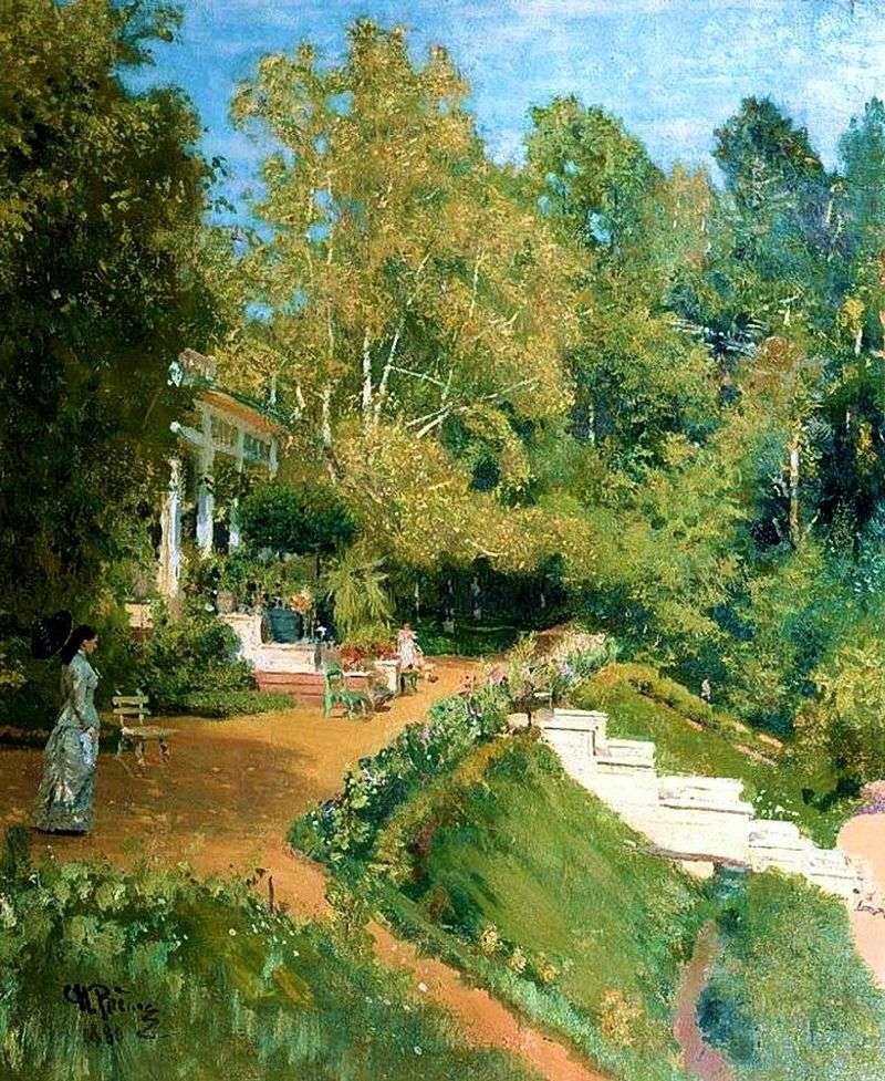 Abramtsevo. Letni krajobraz   Ilya Repin