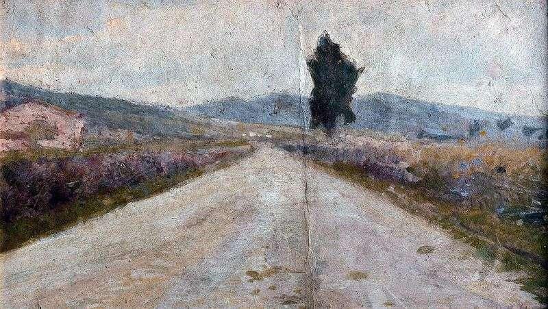 Tuscan Road   Amedeo Modigliani