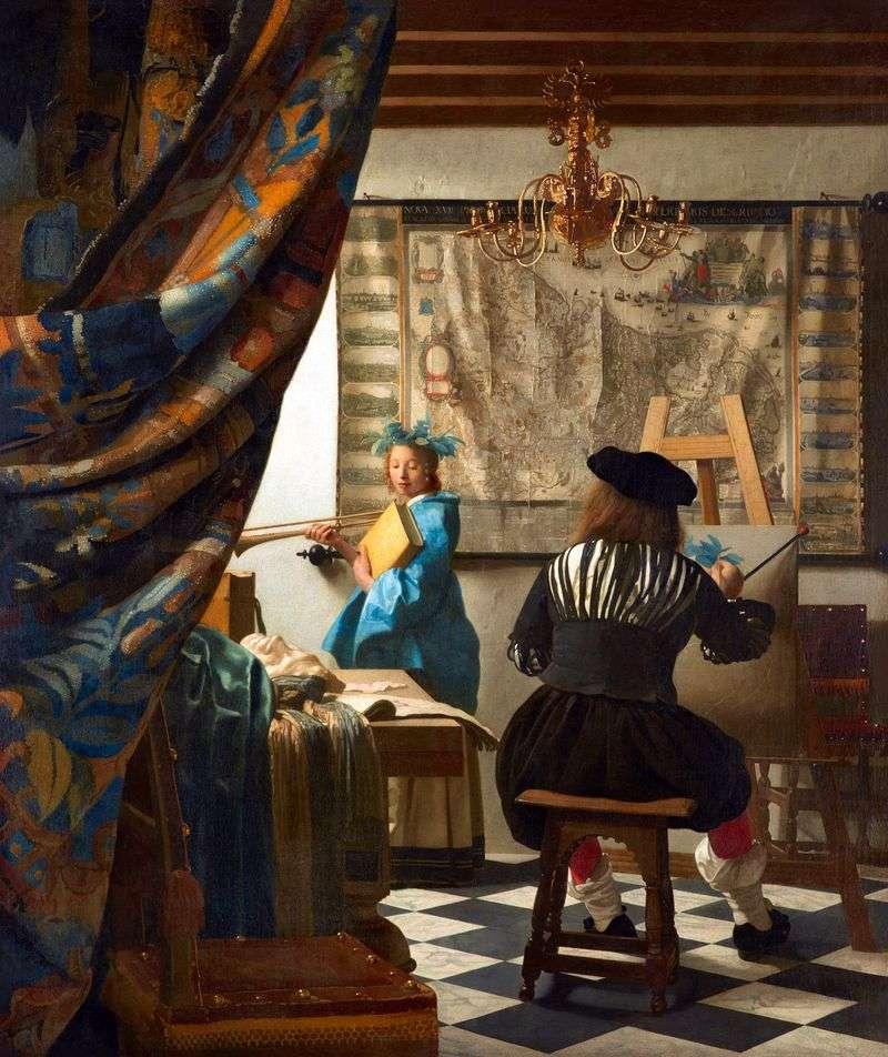 Warsztaty artysty   Jan Vermeer