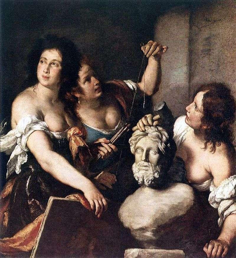 Alegoria sztuki   Bernardo Strozzi