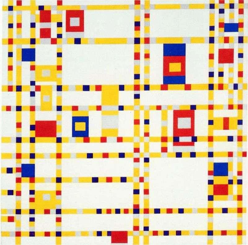 Broadway boogie woogie   Peter Cornelis Mondrian