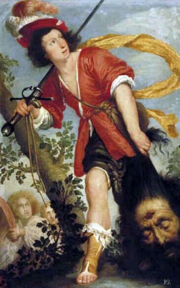 David z głową Goliata   Bernardo Strozzi