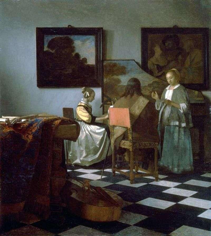Koncert   Jan Vermeer