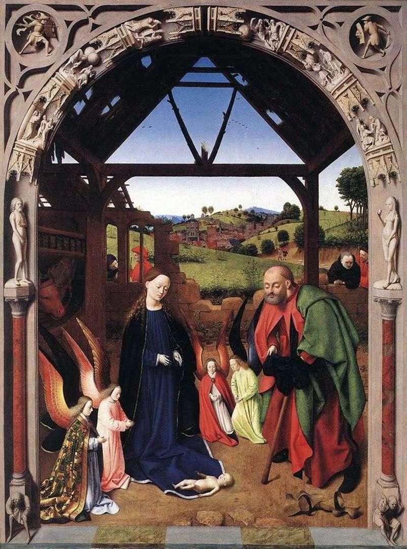 Boże Narodzenie   Petrus Christus