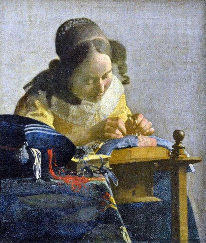 Lacemaker   Jan Vermeer