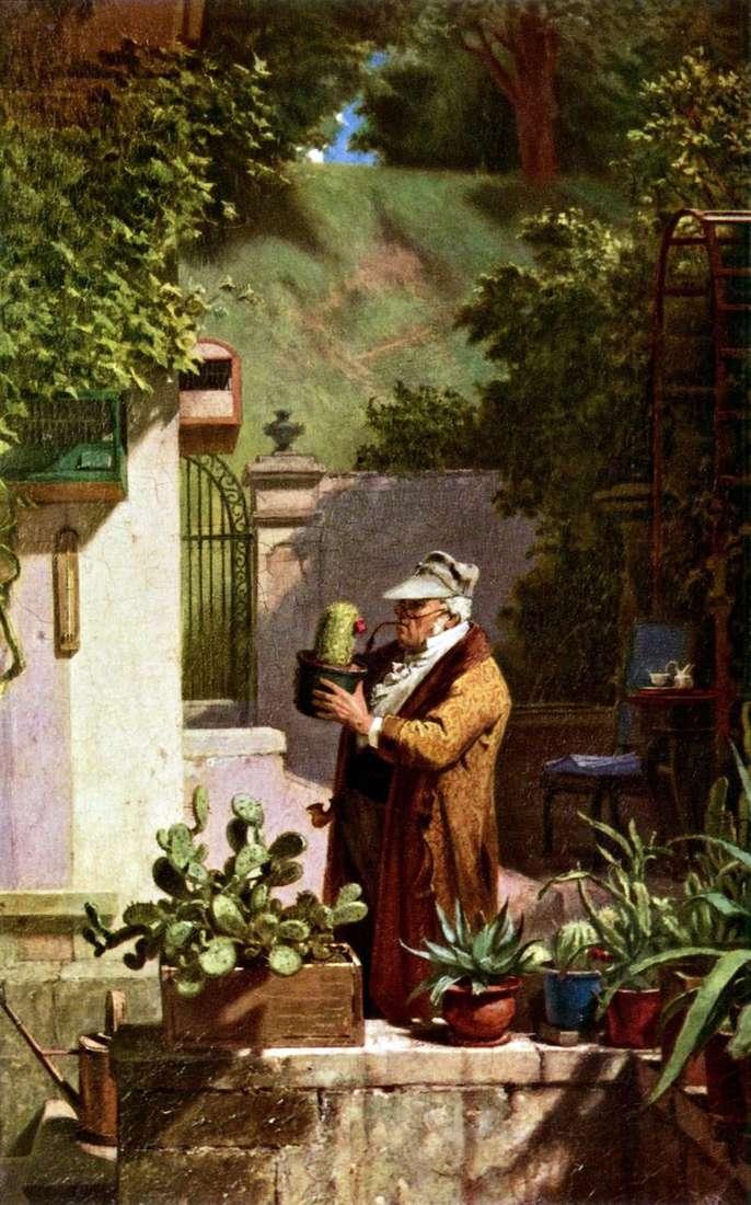 Miłośnik kaktusów   Karl Shpitsveg