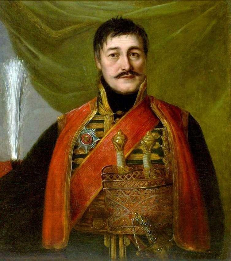 Portret Karageorgiya   Vladimir Borovikovsky