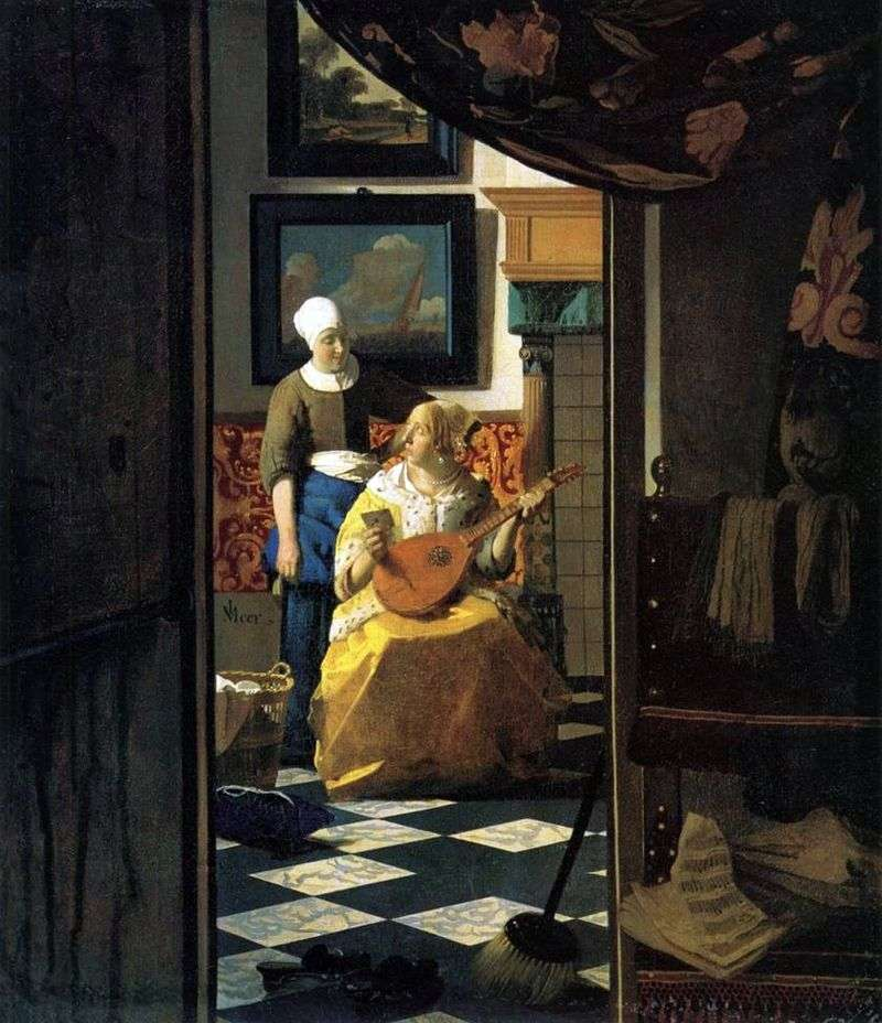 Love Message   Jan Vermeer