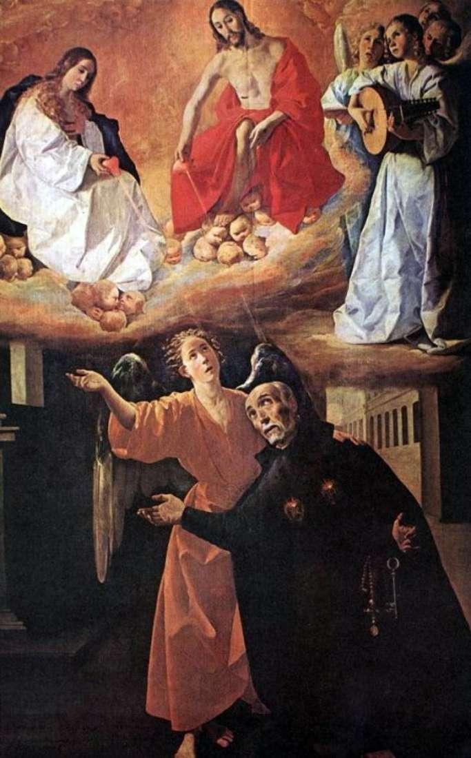 Wizja sv. Rodriguez   Francisco de Zurbaran