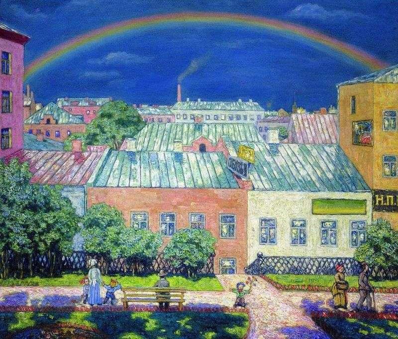 Moskwa krajobraz. Rainbow   Nikolay Krymov