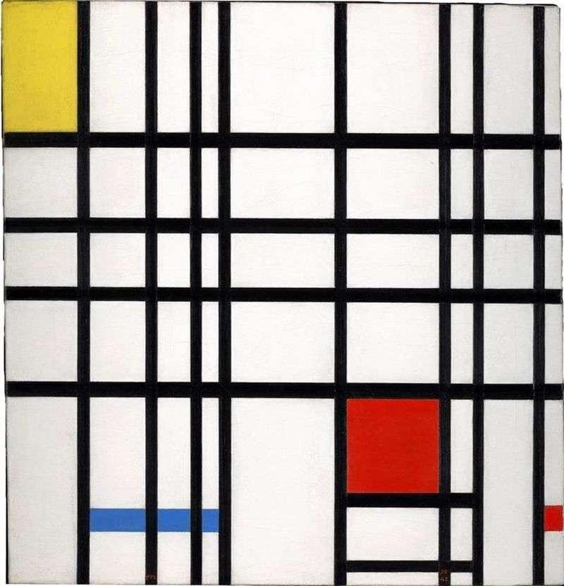 Czerwono niebiesko żółty   Peter Cornelis Mondrian