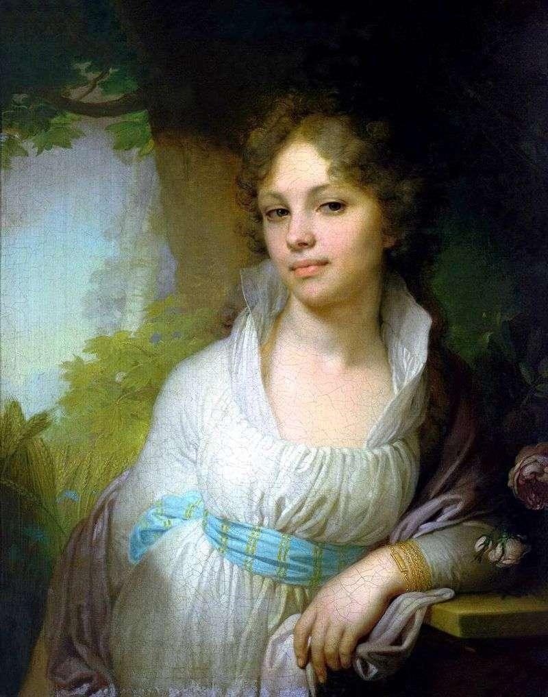 Portret Marii Iwanowna Lopukhina   Władimir Lukich Borowikowski