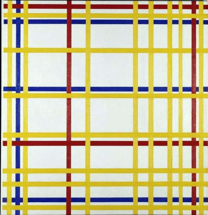 Nowy Jork   Peter Cornelis Mondrian