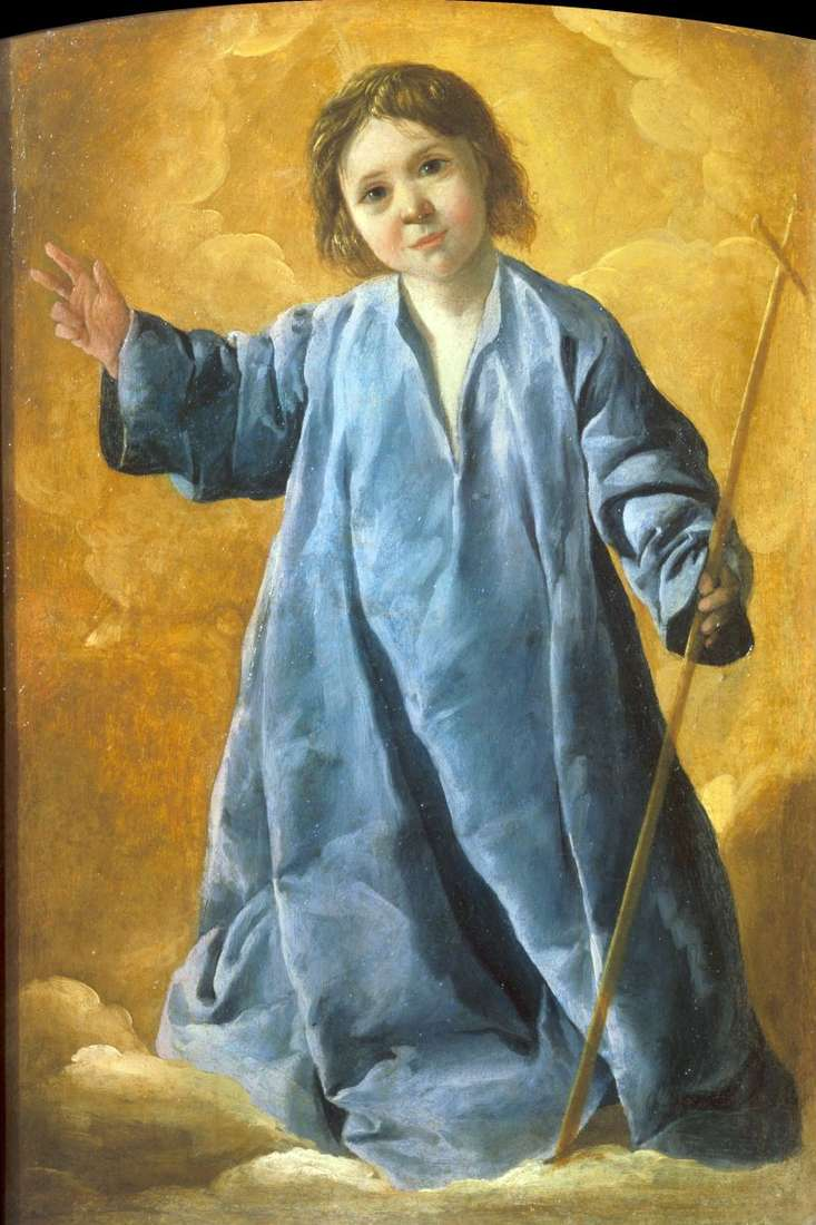 Baby Christ   Francisco de Zurbaran