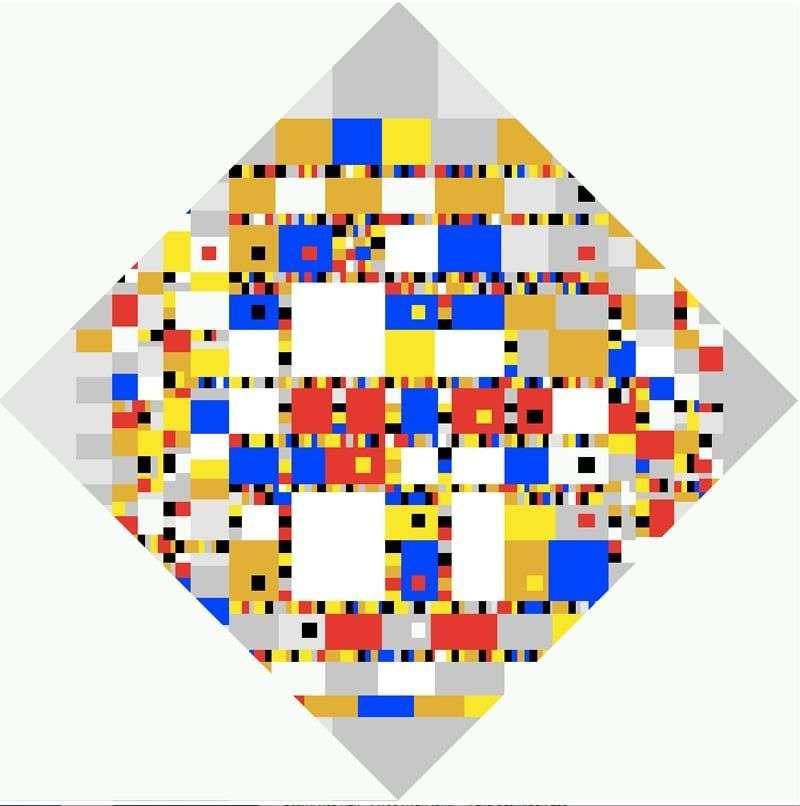 Boogie Woogie Victory   Peter Cornelis Mondrian